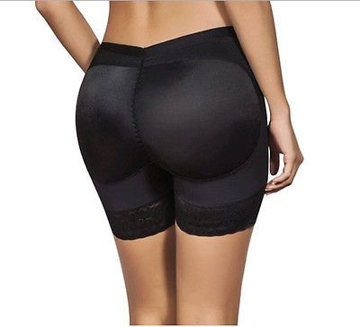 Black Women Butt Lifter Shaper Panties Shapewear Plus Size Butt Lift Padded Control Panties Shapers Clothes XL XXL XXXL