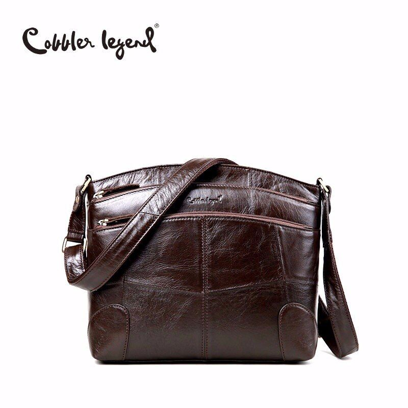 Cobbler Legend Brand <font><b>Designer</b></font> Women's Crossbody Bag Genuine Leather Shoulder Bags For Female Casual Bag Ladies Handbag 0910006-1