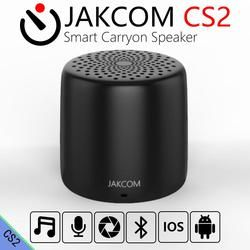 JAKCOM CS2 Fast Wireless Charging with Bluetooth Speaker Mini Smart Carryon Bass Speaker With Remote Control Selfie Music Player