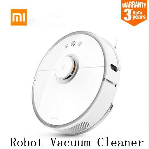 Xiaomi 2nd generation robot Roborock s50 robot vacuum cleaner WIFI APP Control Wet drag mop Smart Planned with water tank