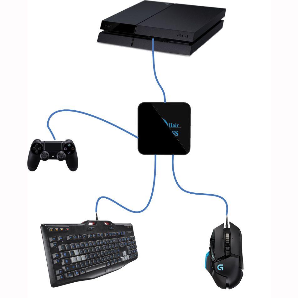 Für Crosshair Maus Tastatur Konverter Kreuz Haar Adapter für Schalter/NS für PS4/Schlank/PS3