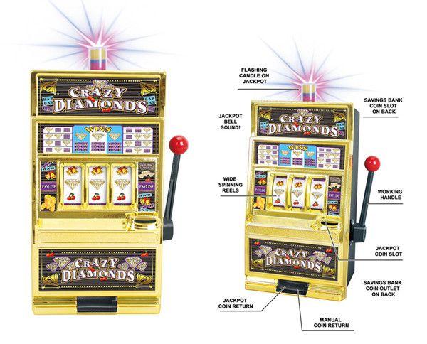 Fruits machine à sous tirelire novelty articles d'anniversaire cadeau Slot Machine Liquor Bar CARTE-TEC CL2
