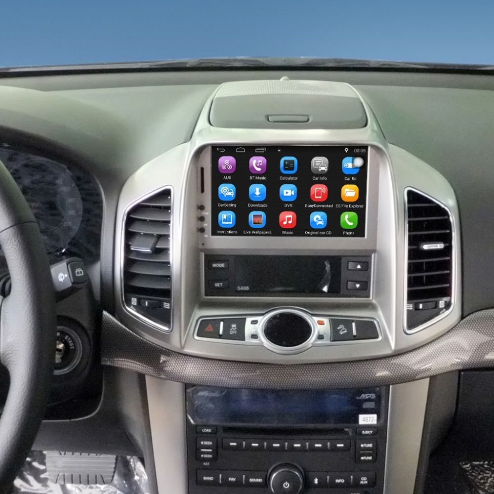 Upgraded Original Car multimedia Player Car GPS Navigation Suit to Chevrolet Captiva 2011-2012 Support WiFi Bluetooth