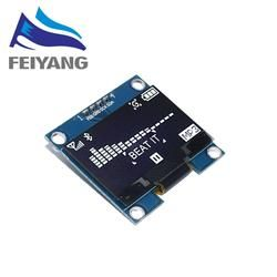 1pcs 1.3 inch OLED module white/blue SPI/IIC I2C Communicate color 128X64 1.3 inch OLED LCD LED Display Module 1.3