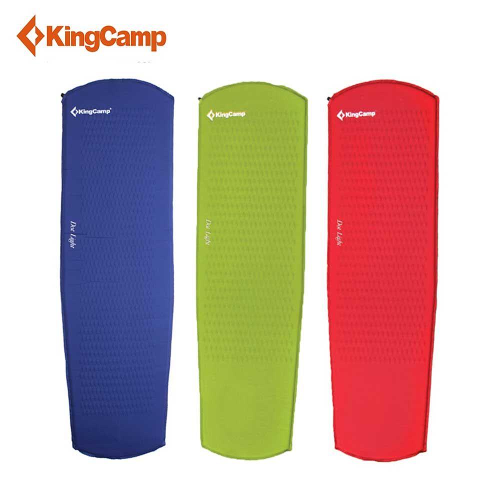 KingCamp Sleeping Pad Ultralight Tent Mat Portable Self Inflating Camping Mattress Damp-proof for Trekking Outdoor