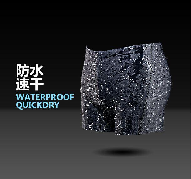 New seoul shark swimming trunks new men waterproof quick-drying shorts hot sharkskin game swimwear beach swimsuit