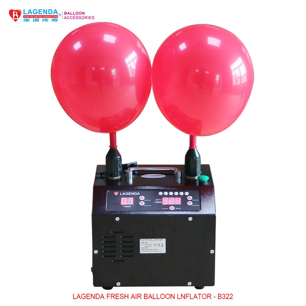 B322 Digital Lagenda Electric Air Inflator for round balloons