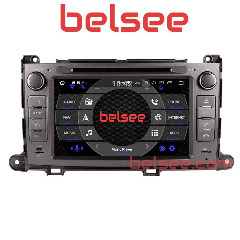 Belsee Octa Core PX5 Android 8.0 Radio GPS Navigation Car Stereo Head Unit for Toyota Sienna XL30 2010 2011 2012 2013 2014 2015