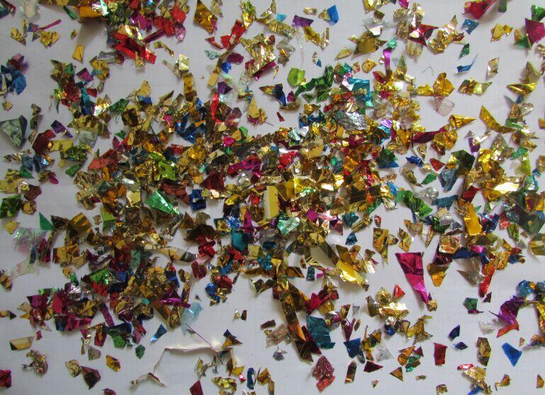 500g par sac Coloré Feuille Déchets Confettis Déchiqueté Feuille Papier