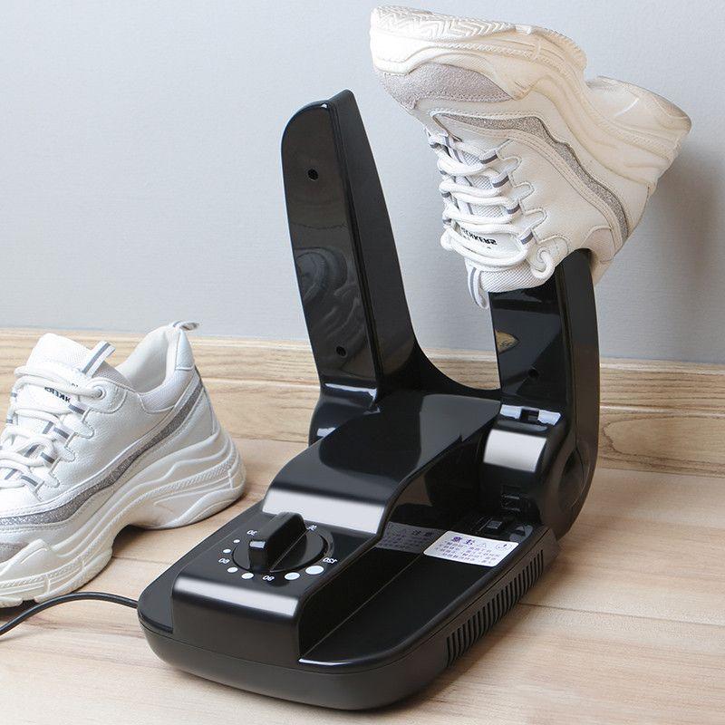 220 V Cuire Chaussures Dispositif de Séchage Machine Stérilisation Anti-Transpirant Pliant Portable Électrique Sèche-Chaussures chaussures bottes gants 150 w