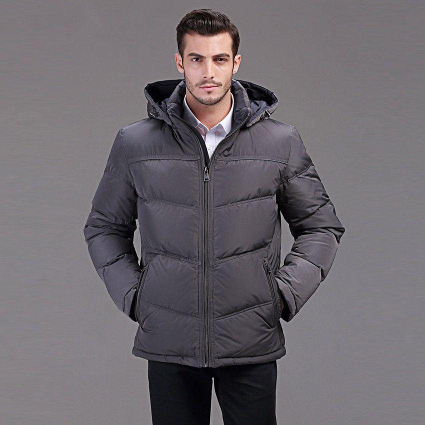 Winter daunenjacke männer kurze bauweise business casual mit kapuze ente daunenjacke für minus 40 grad warmen mantel 46-54 Q136