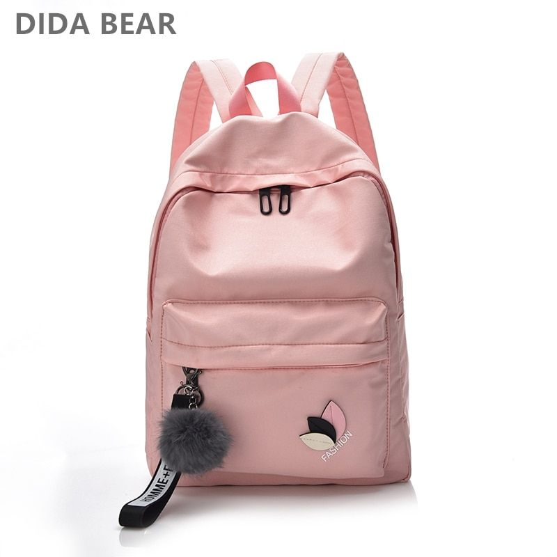 DIDABEAR Women Waterproof Nylon Backpacks Female Rucksack School Backpack For Girls Fashion Travel Bag Bolsas Mochilas Sac A Dos