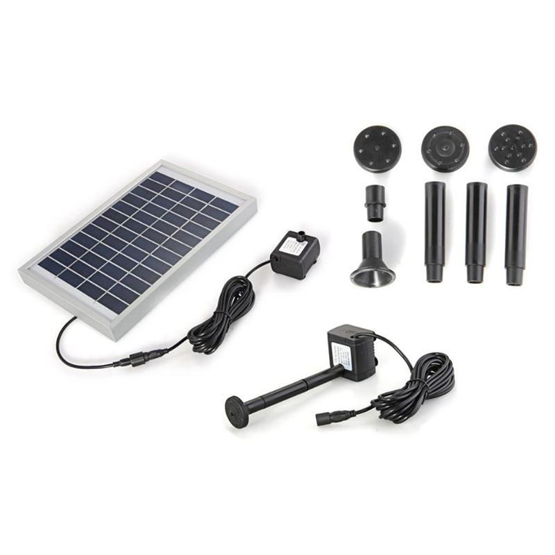 Polycrystalline Silicon Solar Brushless Solar-Powered Water Pump Water Cycle/Pond Fountain