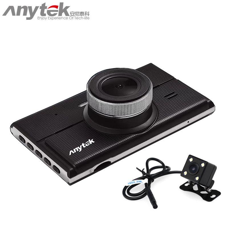 2018 original anytek G68 car dvr novatek 96655 car camera sony dual lens 1080P full hd dash cam video recorder registrar
