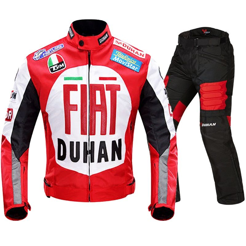 Motorcycle Racing Jacket Autobike DUhan Moto protection Jackets Urban Off Road MTB ATV Jersey Motocross Non-resistant clothing