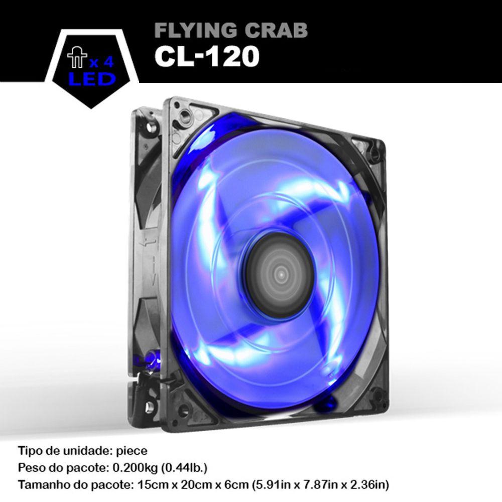 ALSEYE Computer Fan 120mm 12v 3pin 1800RPM 96CFM High Air Flow PC Cooling Fan Cooler for Case 12cm