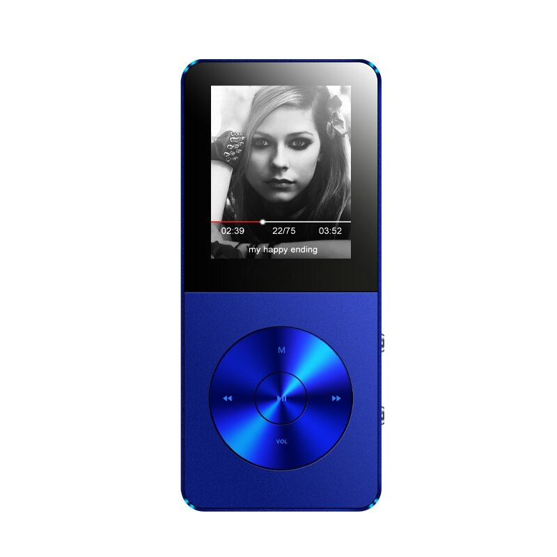 MP3 Player IQQ X1 Mini Portable Sport Radio Video Music Players with Speaker 8GB Support APE/AAC/FLAC/OGG/WMA 64GB TF Card FM