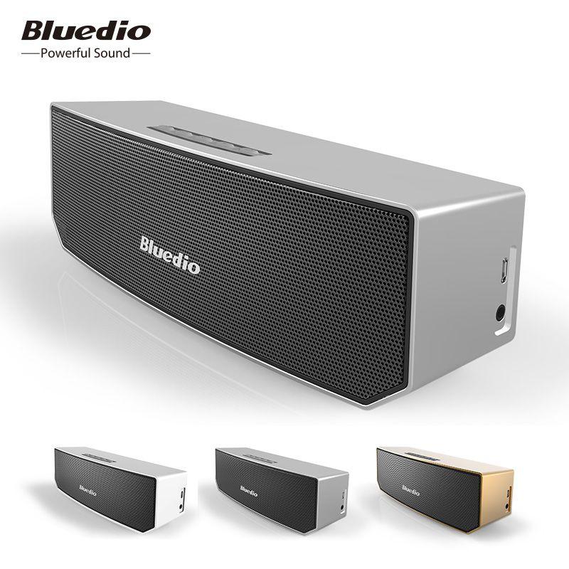 Bluedio BS-3 Mini Bluetooth Haut-Parleur portable Sans Fil Son Système 3D stéréo Musique haut-parleurs