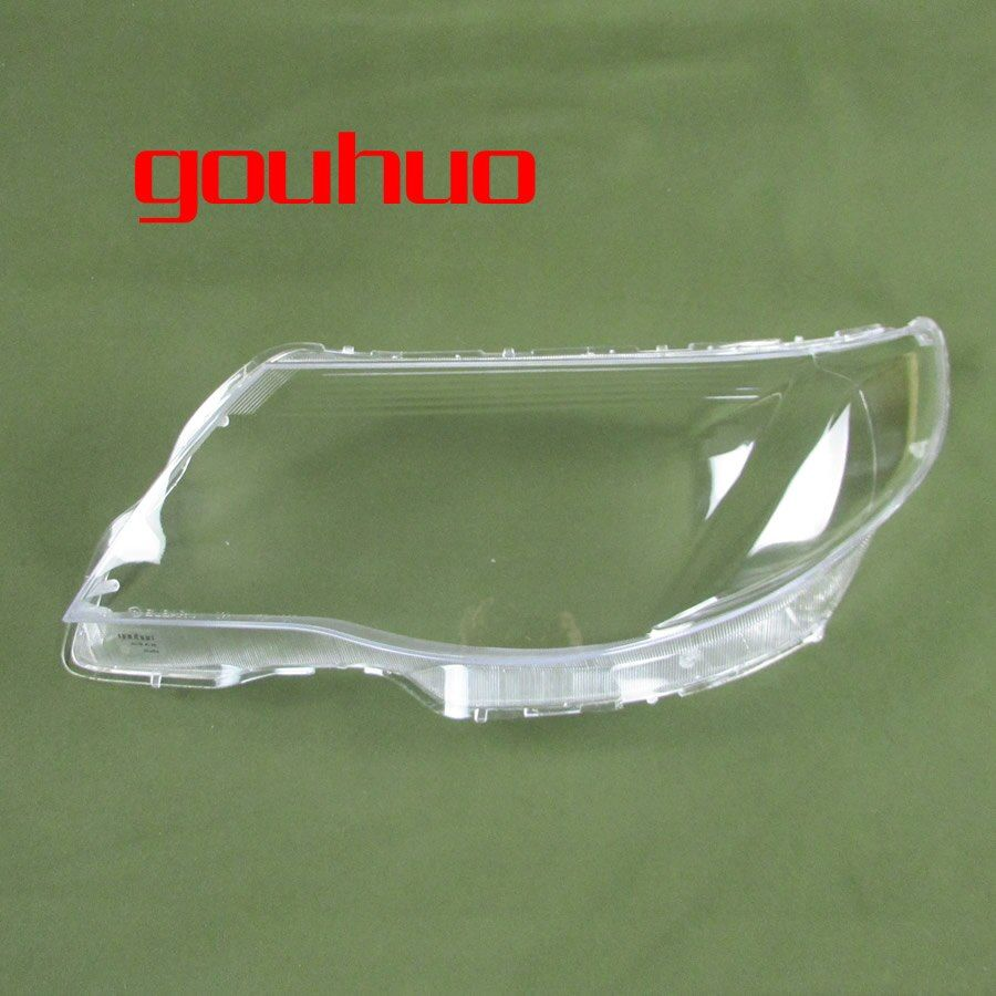 For SUBARU Forester 09-12 Lamp Cover Headlamp Shell Transparent Lampshade Headlight Cover Lens Glass 2pcs
