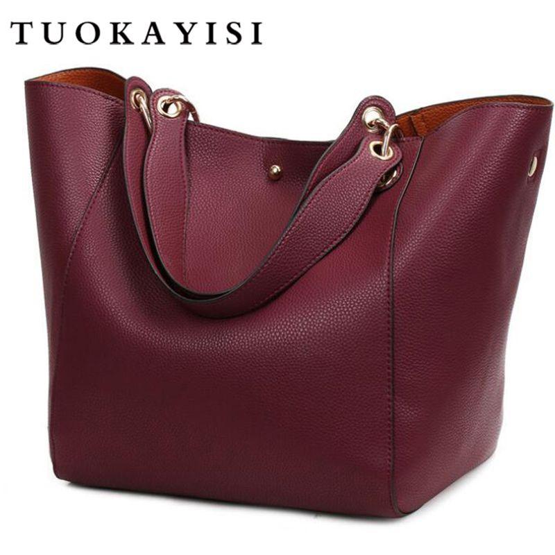 fashion Women Bags Genuine Leather Bags Luxury Women Handbags High Quality Cowhide Shoulder Bags Ladies Big Capacity Bag Bolsos