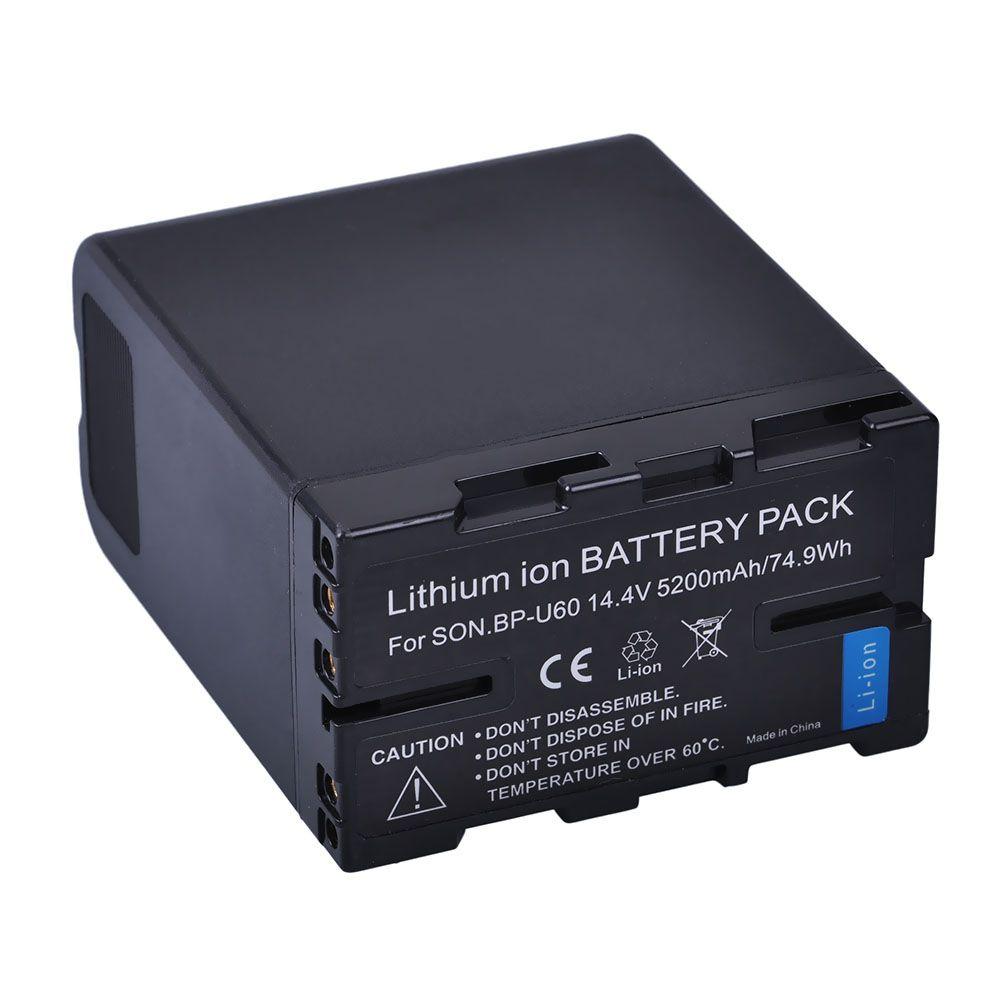 1 stück 5200 mah BP-U60 BP U60 BPU60 Wiederaufladbare Li-Ion Akku Für Sony XDCAM EX PMW100 PMW150 PMW160 PMW200