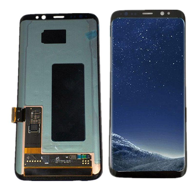 Für Samsung galaxy S8 Lcd Display Touchscreen Digitizer Montage Für Samsung S8 G950 G950F G950U G950W lcd mit Rahmen
