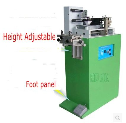 Electric one color pad printer machine Printing machine for number date small logo + cliche plate + rubber pad
