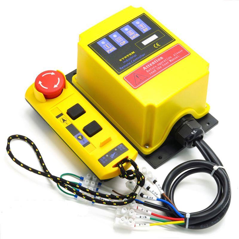 A2HH palan électrique un type direct industrielle télécommande intégré contacteur avec d'arrêt d'urgence