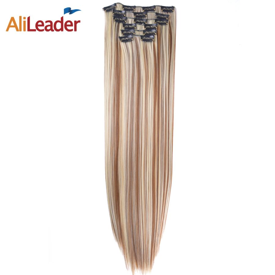Alileader Products Full Head Clip In Hair Extensions 6 Pcs/Set 16 Clips 140G 22