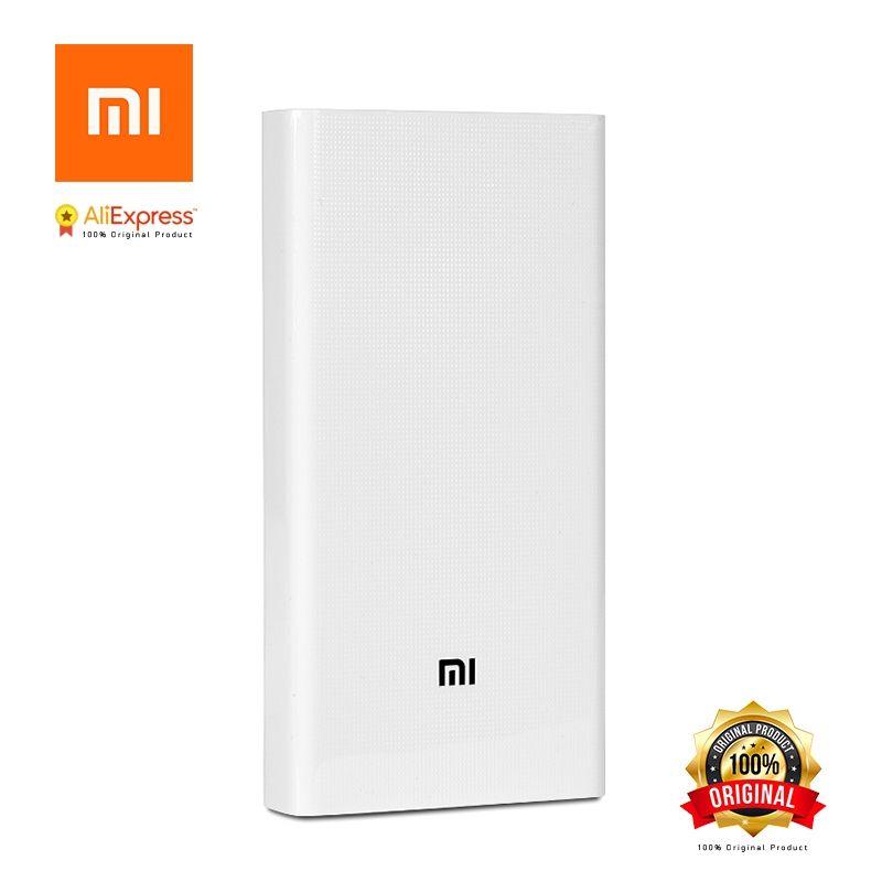 Xiaomi Original Power Bank 20000mAh 2 2C Portable Charger Dual USB Mi External Battery Bank 20000 for Mobile Phones and Tablets