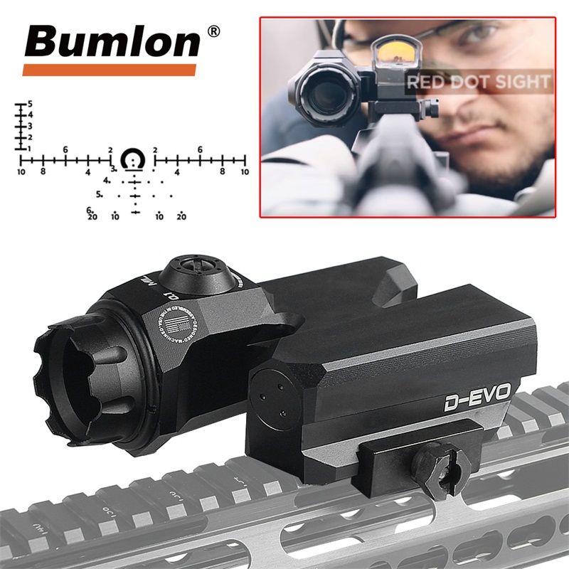 D-EVO Rifle Scope 6x20mm CMR-W-Reticle Matt for Tactical Hunting Airsoft RL6-0068