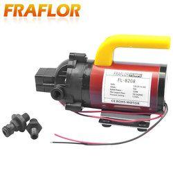 Tekanan Tinggi DC 12 V 120 W Pompa Diafragma Pencuci Mobil Portabel Pompa dengan Pressure Switch Self Priming Sprayer Pompa