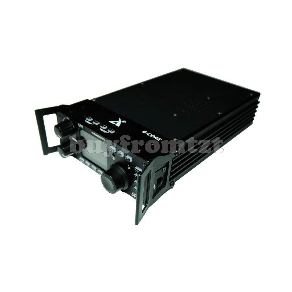 Outdoor Kurzwellen Radio SDR Tragbare Transceiver HF 20 W SSB/CW/AM 0,5-30 MHz w/ eingebaute Antenne Tuner XIEGU G90 WENN Ausgang