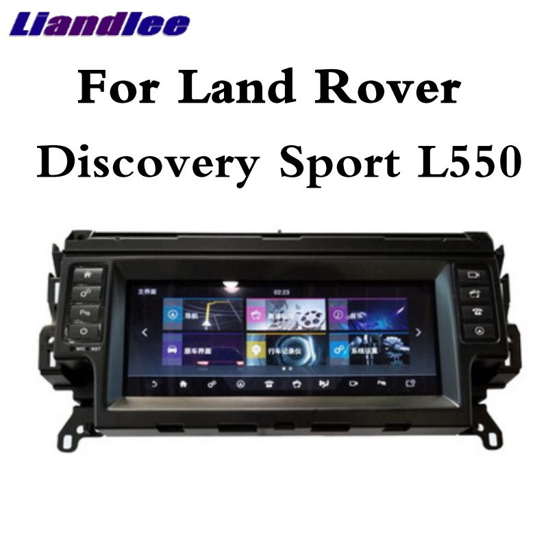 Für Land Rover Discovery Sport L550 2014 ~ 2019 Liandlee Auto Multimedia Player NAVI CarPlay Radio Bildschirm GPS Navigation