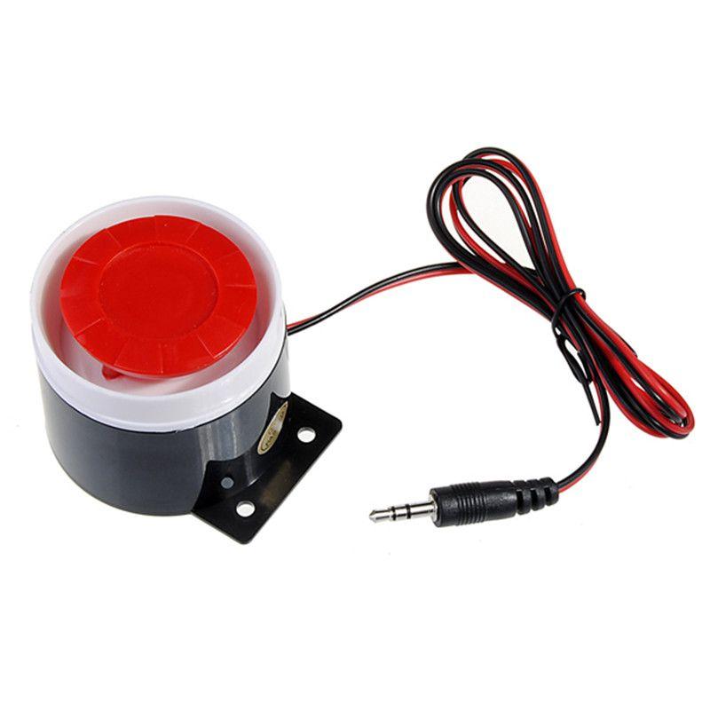 6 V DC 120dB Verdrahtete Sirene Horn Lautsprecher für GSM Home Gehäuse Sicher Sicherheitssystem Alarm Heißer Verkauf