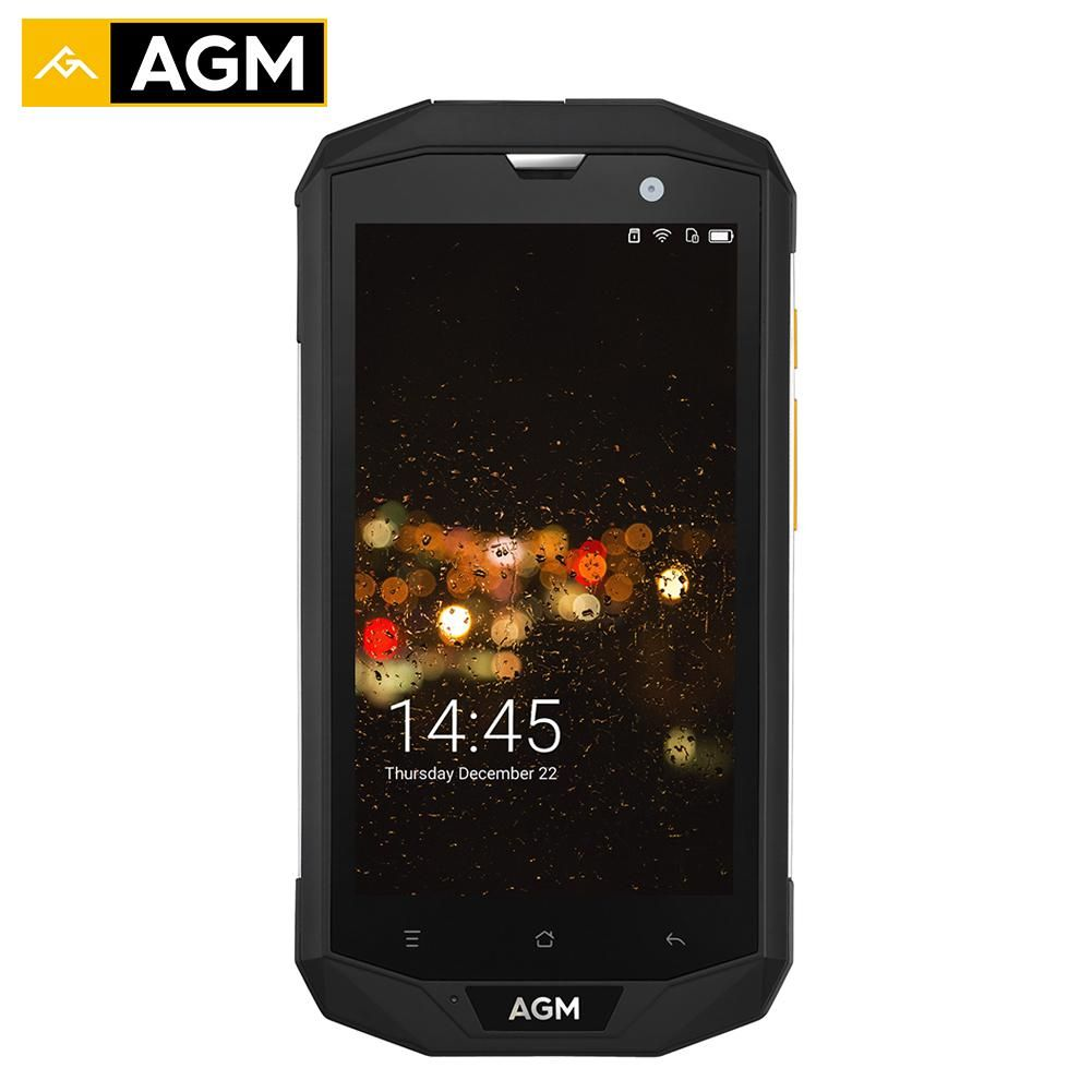 AGM A8 IP68 Waterproof Mobile Phone 5.0
