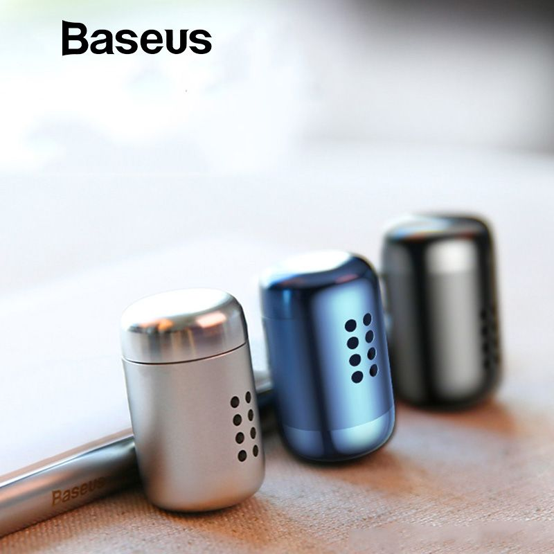Baseus Metal Aromatherapy Car Phone Holder Air Freshener for Auto Air Vent Freshener Air Condition Clip Diffuser Solid Perfume