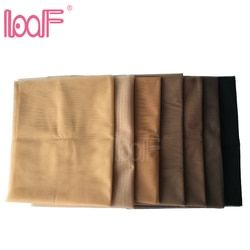 LOOF 1 Yard Swiss Lace Net For Making Lace Wig Foundation Hairnet Accessories Weaving Tools Hair Net 7 Colors Available