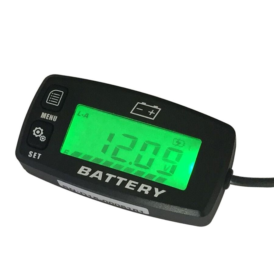 Lead Acid Storage Battery GEL AGM LiFeO4  Voltmeter Battery Indicator FOR Motorcycle ATV Tractor MARINE boat UTV BI008