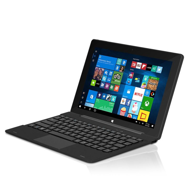 Распродажа с pin-клавиатурой 10.1 дюймов IPS Экран Планшеты PC 6000 мАч 1280x800 2 ГБ + 32 ГБ G Сенсор Quad Core Оконные рамы 10 Планшеты PC z3733f