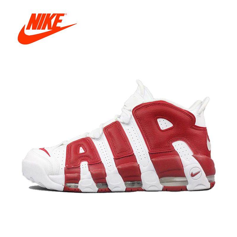 Original Neue Ankunft Authentic Nike Air Mehr Uptempo männer Basketball Schuhe Sport Turnschuhe