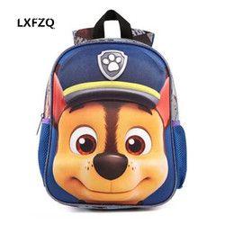 3D Tas untuk anak perempuan ransel anak Puppy mochilas escolares infantis anak tas sekolah yang indah Tas Sekolah ransel Bayi tas
