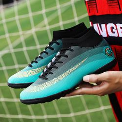 Professional Soccer Shoes SuperflyX VI Elite CR7 MD 360 Flywire Football Boots Men Women Training Sneaker Adult Kids Boys Cleats