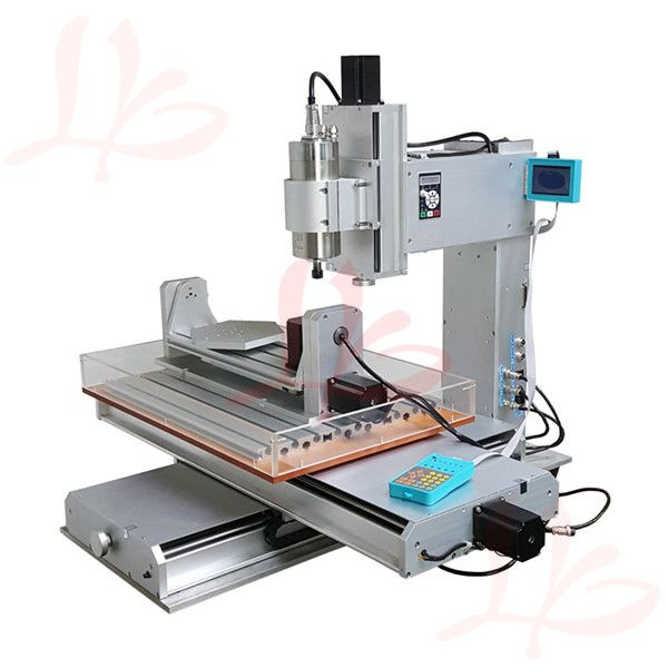 5axis pillar type cnc machine CNC 6040 engraving machine with Ball Screw
