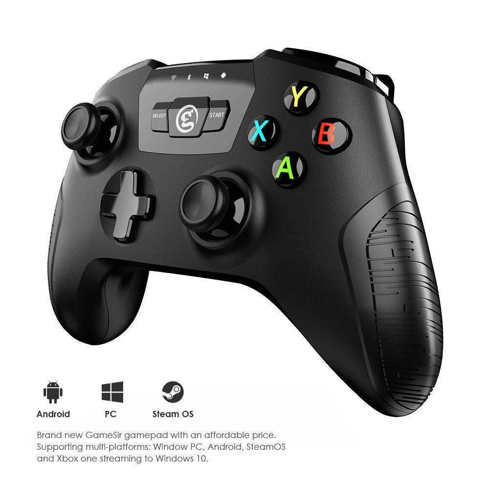 Gamesir коврик T2a Bluetooth 2.4 г приемник Беспроводной геймпад, с USB проводной контроллер, Battry зарядное устройство