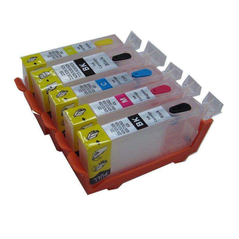 PGI-520 CLI-521 refillable ink cartridge for canon PIXMA IP3600 IP4600 IP4700 MX860 MX870 MP540 MP550 MP560 MP620 MP630 MP640