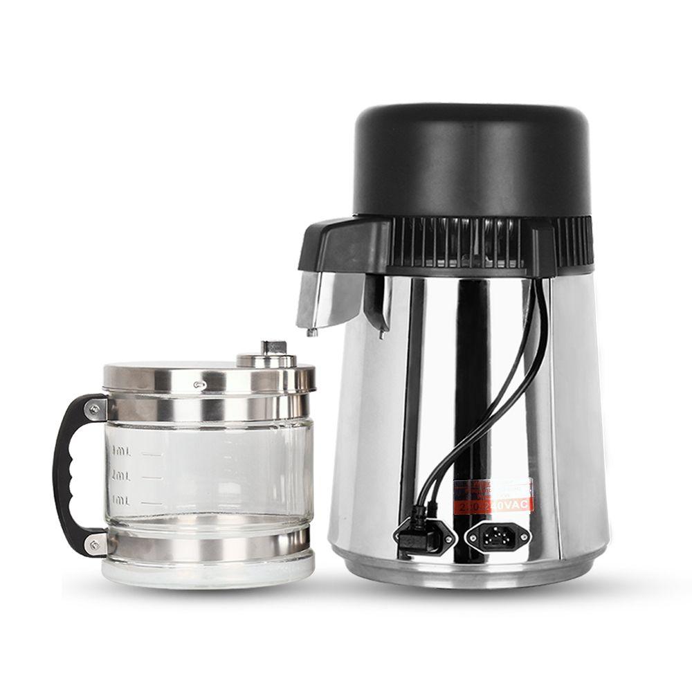 Household Water Distiller 4L Distilled Water Machine Distillation Purifier Filter Stainless Steel Dental Lab Water Filter