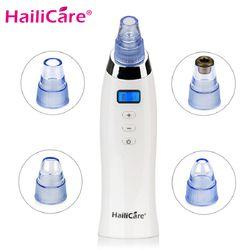 Skin Care Pore Vacuum Blackhead Remover Acne Pimple Removal Vacuum Suction Tool Face Clean Facial Diamond Dermabrasion Machine