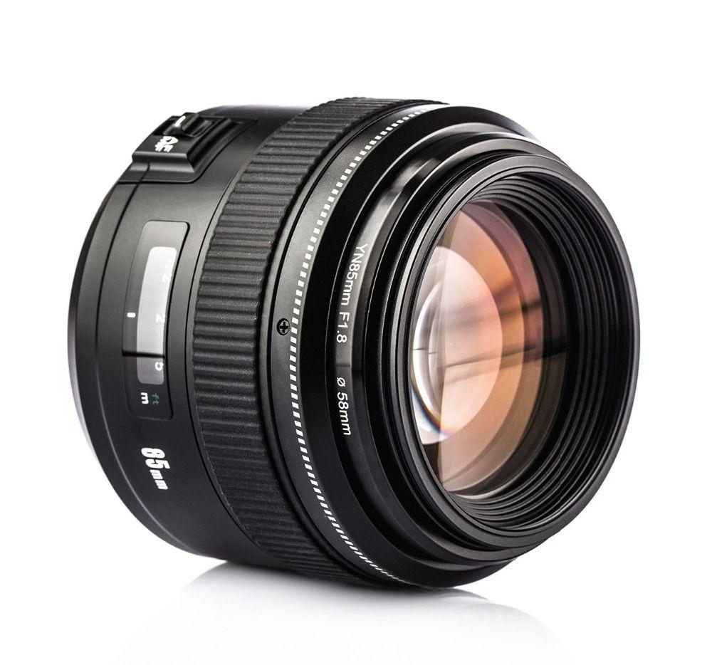 YONGNUO YN85mm F1.8 Large aperture AF/MF Focus Standard Medium Prime Fixed Telephoto Lens for Canon EF Mount Rebel DSLR Cameras