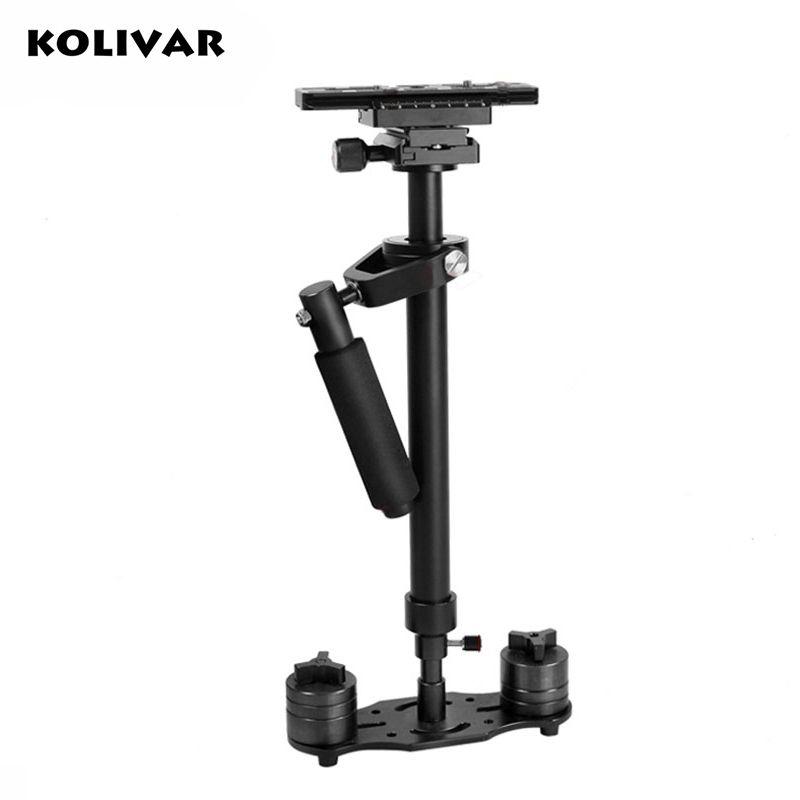 Kolivar S60 60 см видео стабилизатор ручной DSLR Камера Steadicam устойчивый для Камера видео DV DSLR Nikon Canon Sony Panasonic
